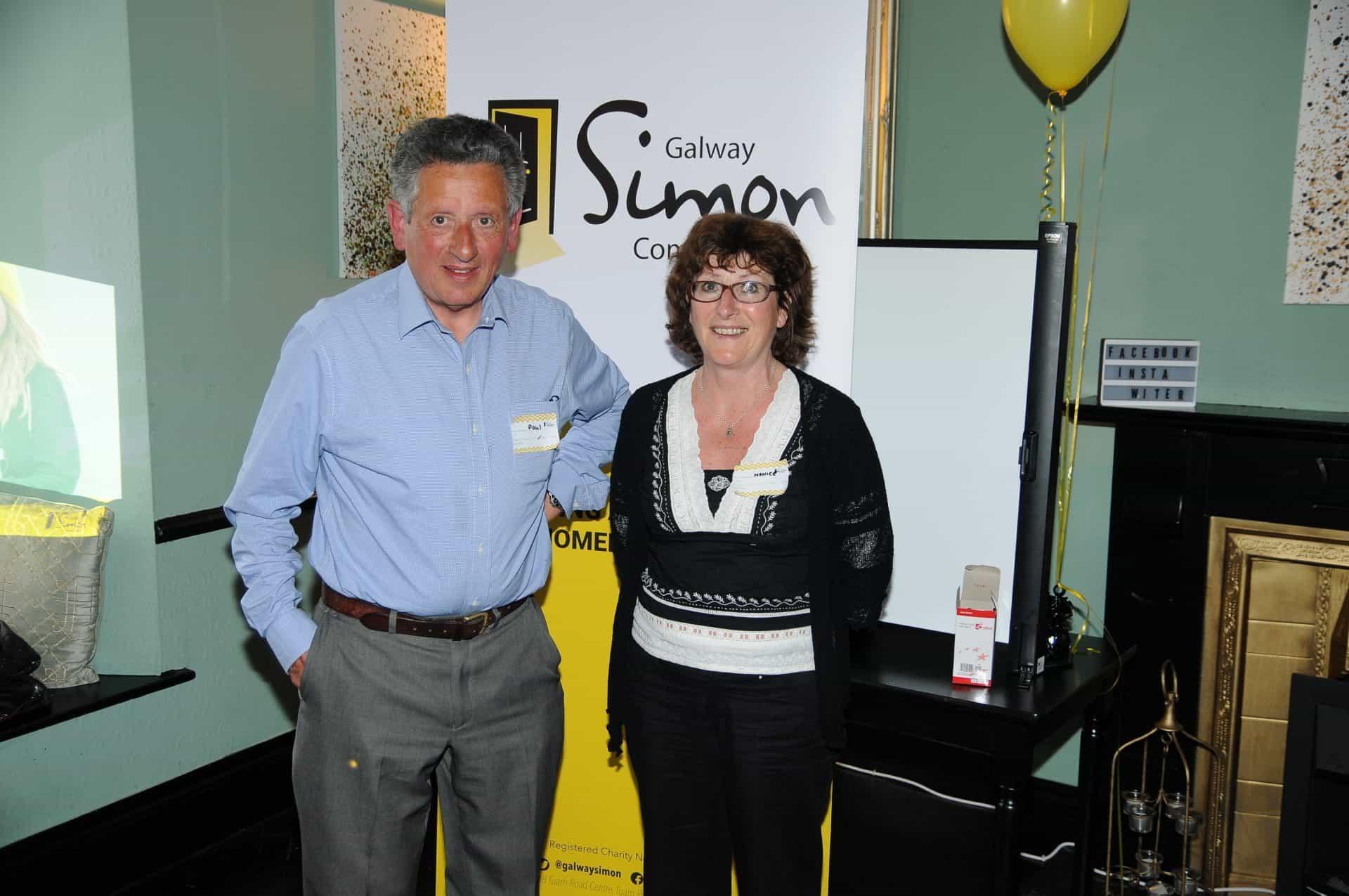 Paul Duffy & Monica Coughlan, Galway Simon Community Volunteers
